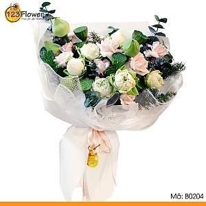 Bó hoa 204